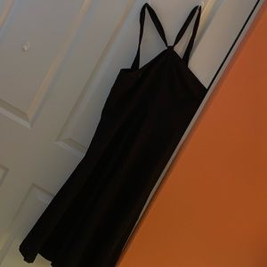 Black J Crew Halter dress